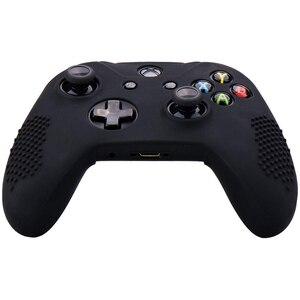 Image 2 - סיליקון גומי כיסוי עור מקרה אנטי להחליק עבור Xbox אחד/S/X בקר X 2 (שחור & לבן) + Fps פרו נוסף גובה אגודל כידון X