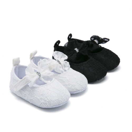 15f58ccb1c4de6 3-12Month Infant Baby Girl Shoes Casual Soft Sole Sneaker Crib Lace Flat  Shoes