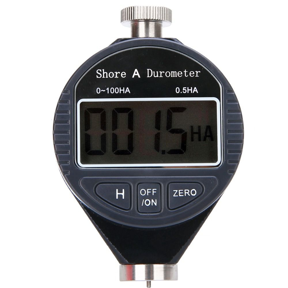 New 1pc New Digital Hardness Durometer Tester 0-100HA Shore A LCD Meter For Rubber Plastic Leather Multi-grease Wax