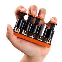 Hand Grip Finger Trainer Handgelenk-stärkungsmittel-ball Einstellbare Power Ausbildung Home Fitness Ausrüstung Exerciser Klavier Gitarre Finger Trainer
