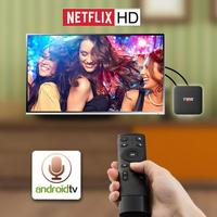 2.4G Air Fly Mouse Voice Remote Control+T95 S1 Andorid 7.1 2+16GB TV Box Android TV box Smart Interactive Personality TV box