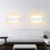 Moderno LEVOU Lâmpadas de Parede 8 Cubóide W 85 265V Sala de Estar Casa de Banho Espelho de Luz de Alumínio Da Lâmpada de cabeceira Corredor Escadas luzes de casa|Luminárias de parede| |  -