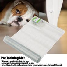 Köpek yavru kediler yumuşak güvenli paspasları elektrikli Pet köpek eğitim ekipmanları şok Keep Away Mat Pet malzemeleri köpekler evcil hayvanlar aksesuarları