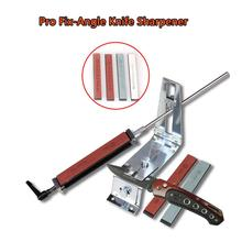 Professional Stainless Steel  Iron Steel Fixed Angle Kitchen Knife Sharpener Sharpening System Fix Fixed Angle Tools with Stones stainless steel professional knife sharpener tool kitchen knife sharpener sharpening fix fixed angle with stones