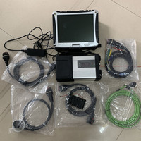 mb star c5 diagnostic tool with 2019.07 software ssd installed in cf 19 laptop full set ready to use 2019 super