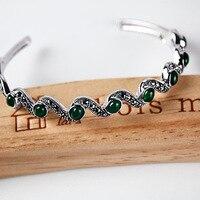 2019 браслет викинга браслет Feminina Love браслет armbanden voor vrouwen Thai 925 открытие стали женские ювелирные изделия Япония и Корея