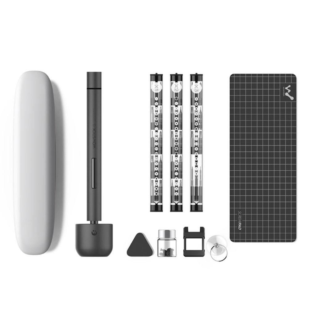 LanLan pour Wowstick 1F Pro Mini tournevis électrique Rechargeable sans fil Kit tournevis électrique avec lumière LED