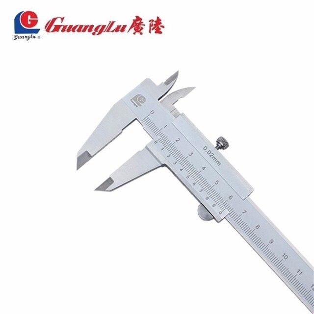 Closed four-use vernier caliper oil marking line card 0-150 0-200 0-300 stainless steel four-purpose caliper