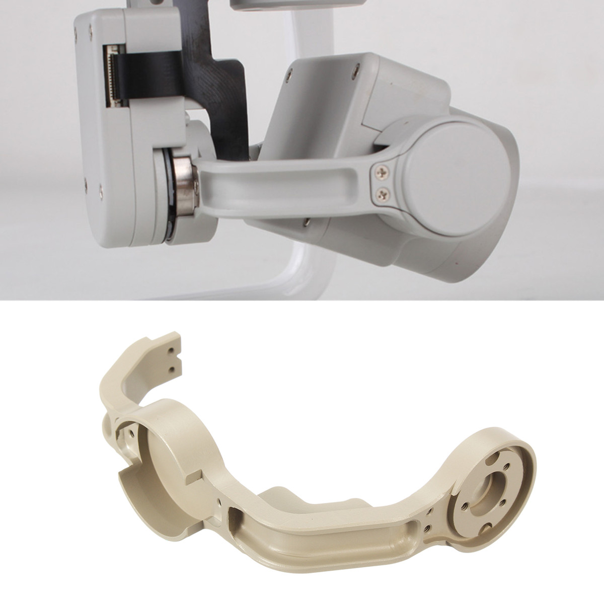 Original Gimbal Roll Arm Replacement Genuine OEM Part For DJI Phantom 4 Pro Camera Drone Gimbal Roll Arm