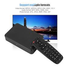 Measy A1HD Full HD медиаплеер Мультимедиа Портативный 3D Жесткий диск 1080P HD видео аудио плеер Поддержка USB и sd-карты 100-240 В