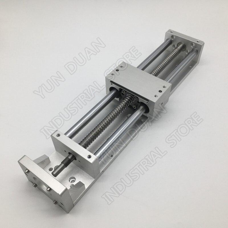300MM Stroke CNC Linear module Cross Sliding Working Table XYZ Axis SFU1605 Ball screw C7 for