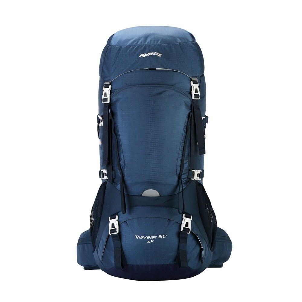 Kimlee 50L sac extérieur confortable Camping sac à dos randonnée escalade voyage ski sac étanche sac à dos avec housse de pluie