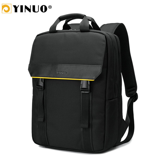 YINUO Multifunction Men's Briefcase Bags For 15