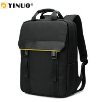 YINUO Multifunction Men's Briefcase Bags For 15 Laptop Back Anti Theft Waterproof With Key Chain Holder Business Bag