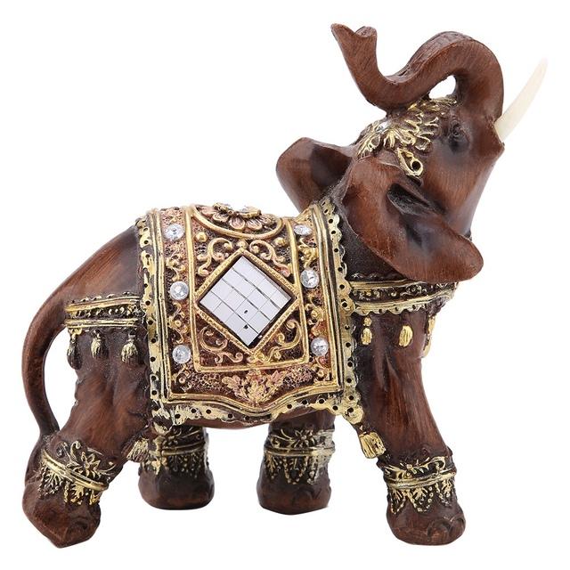 Lucky Feng Shui Elephant Figurine