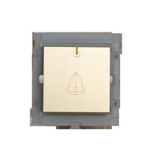 CHINT Doorbell Switch Module 86 Type Wall Socket Light Champagne Gold Free Shipping
