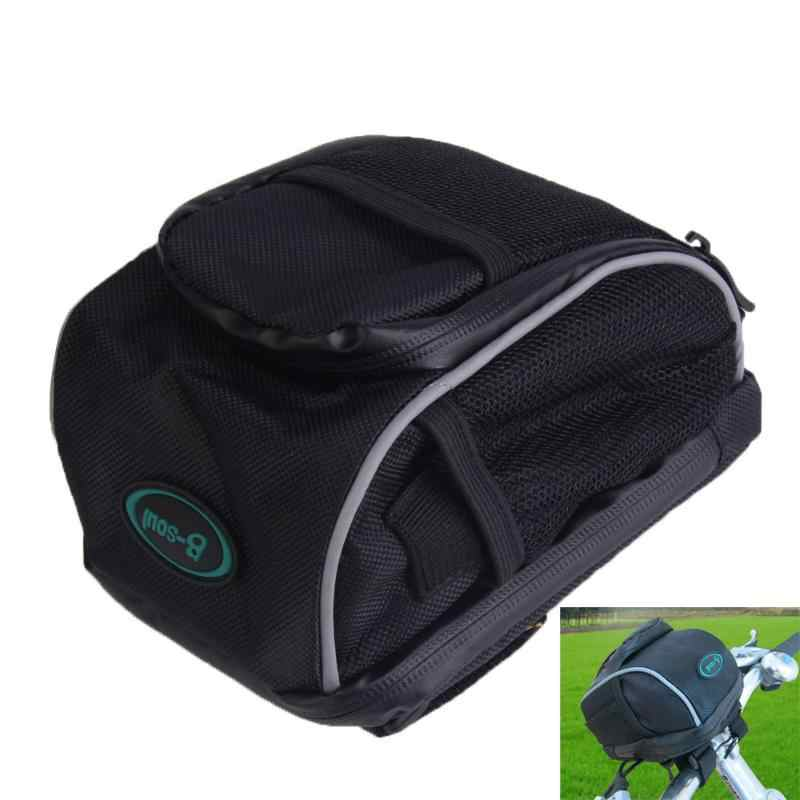 Waterproof Bicycle Mini Bag Bike Handlebar Bar Basket Front Bag Top Tube Outdoor MTB Cycling Pannier Carrier Bike Accessories