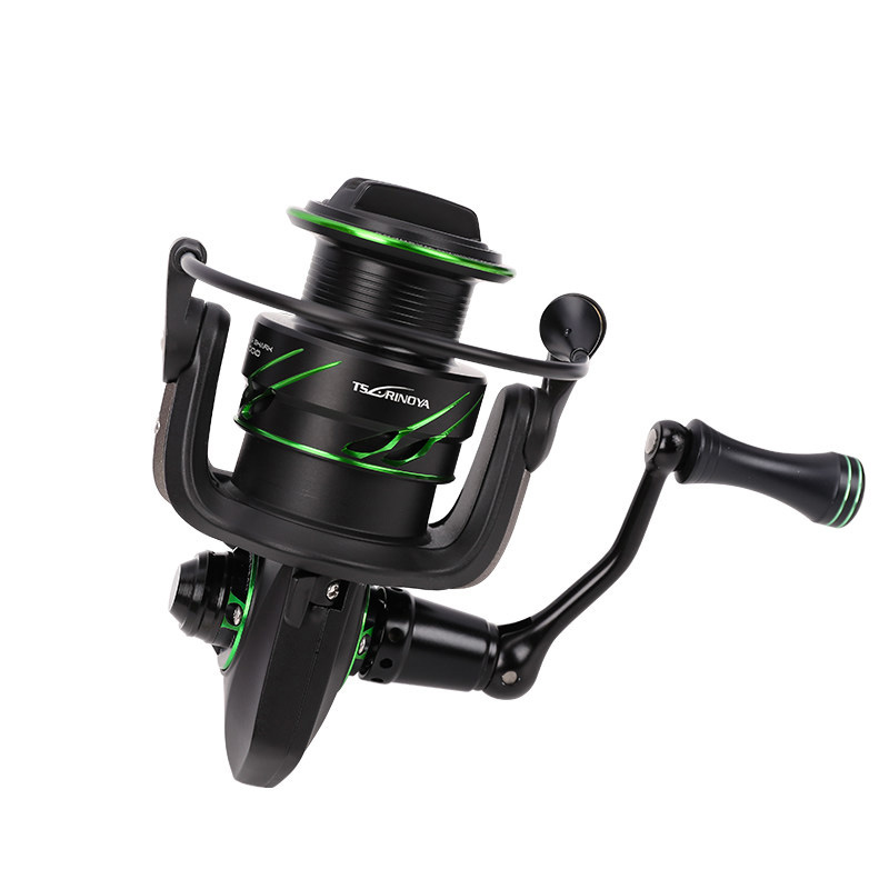 TSURINOYA Fishing Reel FLYING SHARK 2000 3000 12BB 6 2 1 High Gear Ratio Max Drag