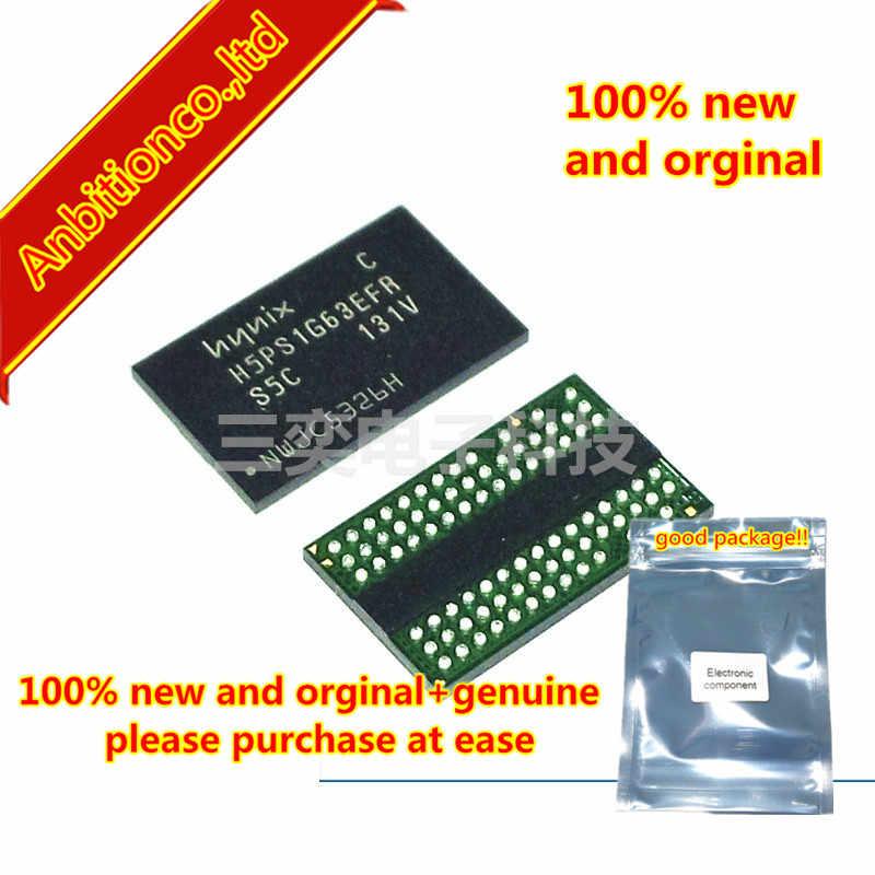 5pcs 100% new and orginal H5PS1G63EFR-S5C BGA64 Common memory flash memory chips for pearl set-top box maintenance in stock