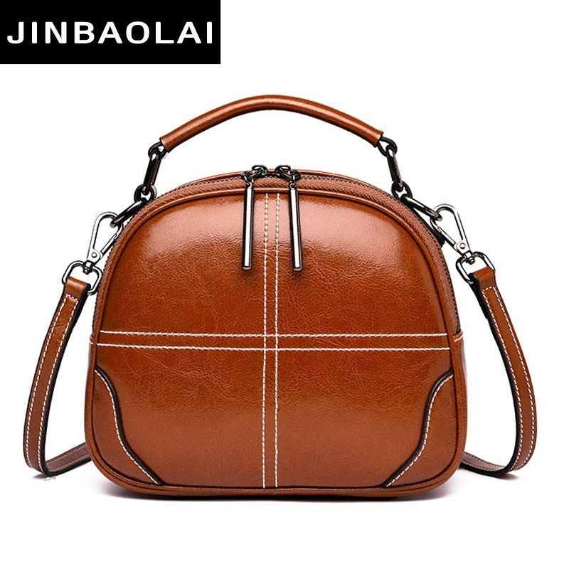 Genuine Leather Handbags Women Bag High Quality Fashion Female Bags Trunk Tote Spanish Brand Shoulder Bags Ladies Menssenger Bag