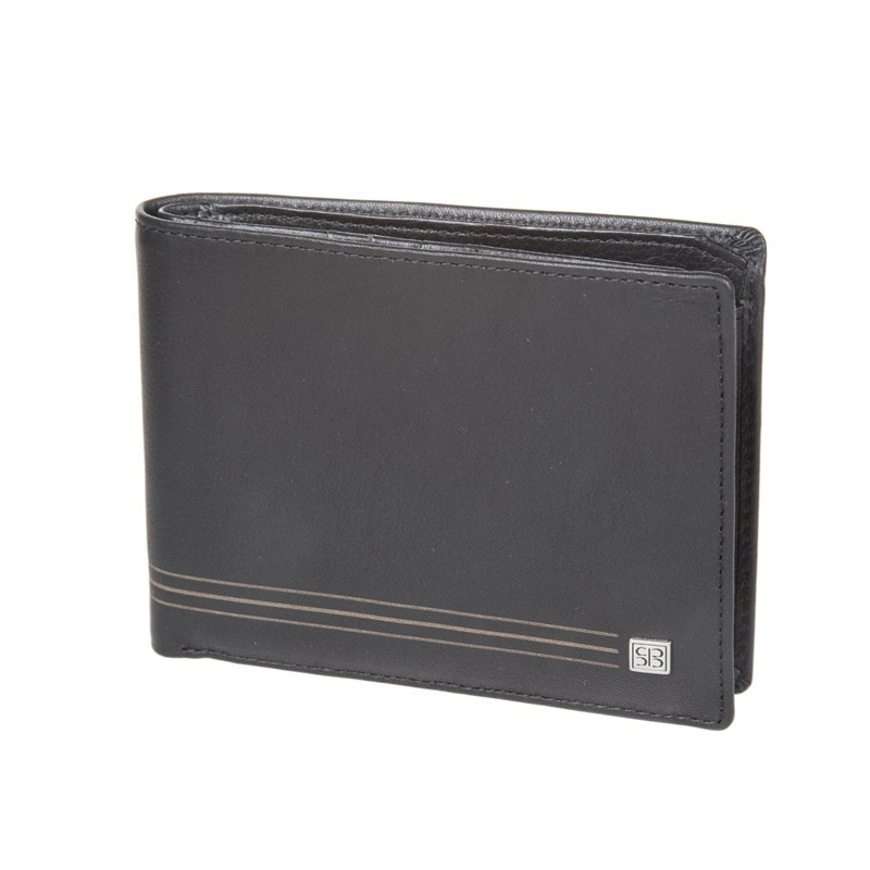 Wallets SergioBelotti 2337 west black цена 2017