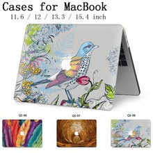 For Notebook bag MacBook Laptop Case Sleeve For MacBook Air Pro Retina 11 12 13.3 15.4 Inch With Screen Protector Keyboard Cover