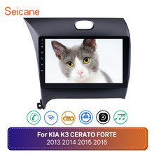 "Seicane 9"" Android 8.1 GPS Car Radio Player for KIA K3 CERATO FORTE 2013 2014 2015 2016 with Bluetooth WIFI Mirror Link OBD2(China)"
