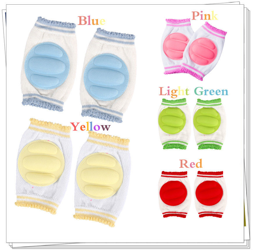 Baby Crawling Knee Pads Babies Protective Safety Elbow Cushion Knee Cap Infant Toddler Protection Leg Warmers