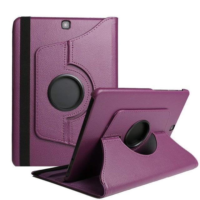 Tab A 9,7 SM T550 Funda de cuero PU con tapa y soporte para Samsung Galaxy Tab A 9,7 ''SM t550 P550 P555 T555C auto despertar dormir