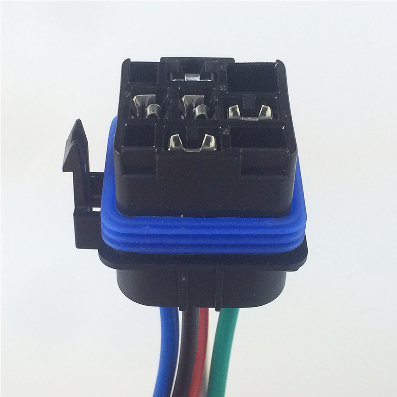 1set Dc 12v 40a Auto Relay 5 Pin Waterproof Integrated