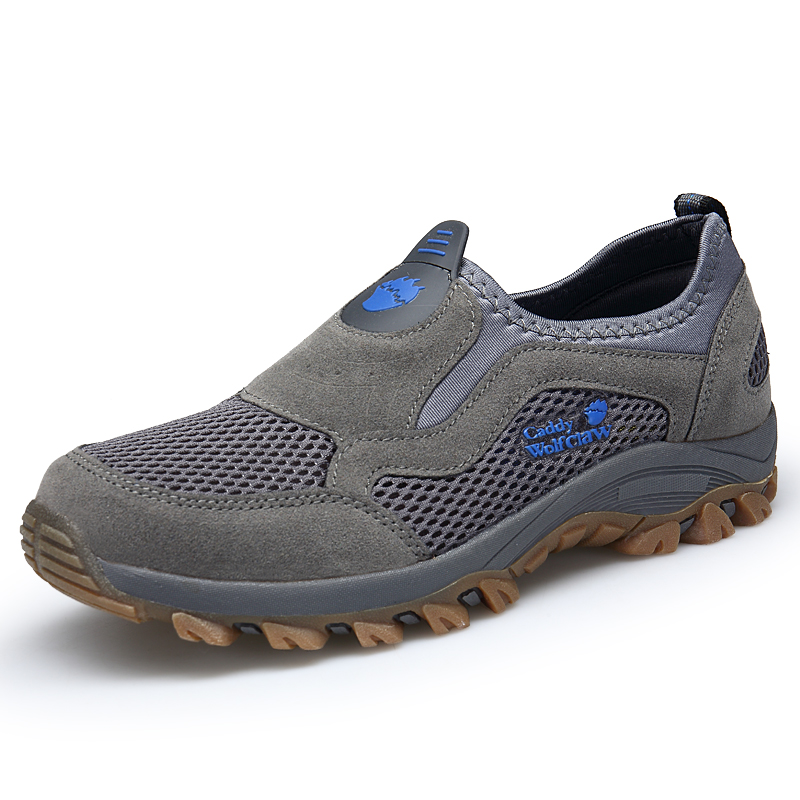 Comfortable Mens Walking Shoes Summer Breathable Slip On Sport Sneakers Beach Water Shoes Outdoor Men Athletic Sneakers 1