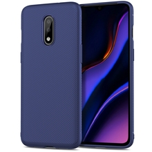 For OnePlus 7 Case Silicone Texture Carbon Fiber Slim Matte Soft TPU Cover Oneplus Pro One Plus Shockproof 1+