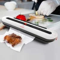 Hogar de alimentos al vacío sellador Mini con 10 piezas bolsas de almacenamiento eléctrico automático de alimentos protector sellador de vacío de 220 V 110 V