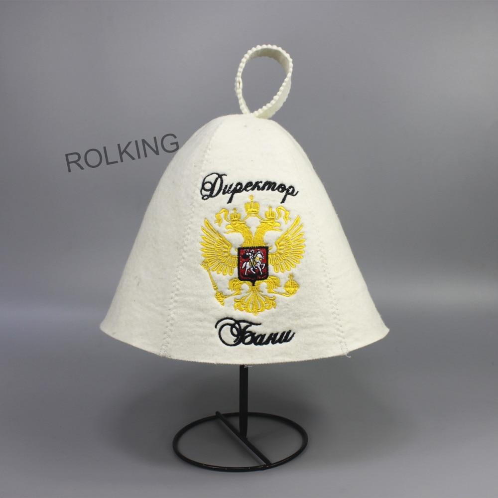 כובע צמר לבן יפה עבור חדר אמבטיה (2PCS / - סחורה ביתית