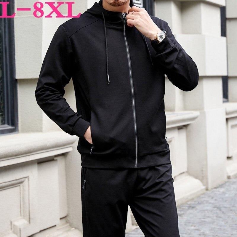 Grande taille 10xl 8xl 6xl nouveau 2019 veste hommes décontracté lâche hommes veste Sportswear Bomber veste hommes vestes hommes et manteaux