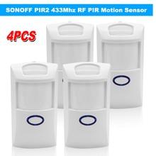 Sonoff PIR2 Draadloze Dual Infrarood Detector 433Mhz Rf Pir Motion Sensor Smart Home Automation Alarmsysteem Voor Alexa
