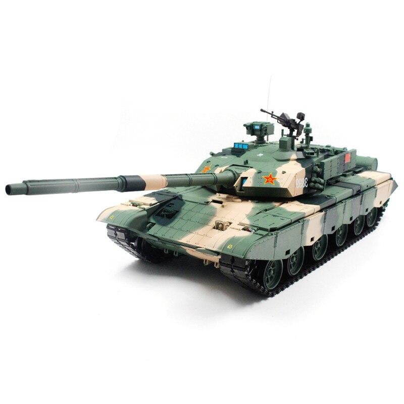Le plus nouveau réservoir de combat de contrôle Radio Long de Heng RC Tank 1/16 2.4G 270 degrés a tourné le réservoir à télécommande de jouets de garçons d'enfants de cadeau de RC
