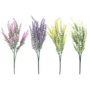 Wedding Party Lavender Fake Home Decor Artificial Flowers