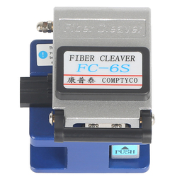 Used in FTTX FTTH FC-6S Fiber Cleaver Tool Metal Fiber Cleaver Fiber Optic Cable Cutter Cold Aluminum Send shatter-resistant bag
