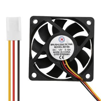 VODOOL Low Noise AV-6025M12S DC12V 0.15A 60x60x25mm Brushless Cooling Fan Cooler For universal CPU Computer Chassis Accessoy computer cooling