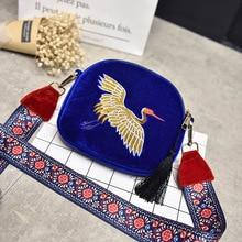 2019 Small Crossbody Bags For Women Handbags Pleuche Female Shoulder Bag Women Messenger Bags Embroidery Ladies Hand Bags Sac все цены