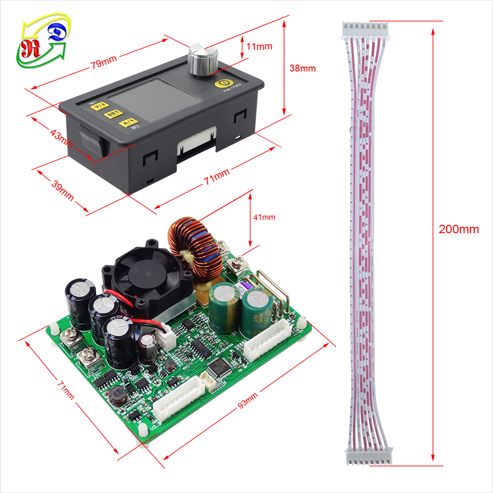 Image 4 - RD DPS5015 communication Constant Voltage current DC Step down Power Supply module buck Voltage converter LCD voltmeter 50V 15A-in Voltage Meters from Tools