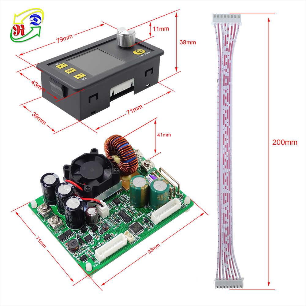 RD DPS5015 الاتصالات الجهد المستمر الحالي تيار مستمر تنحى وحدة امدادات الطاقة باك محول جهد كهربي LCD الفولتميتر 50 فولت 15A