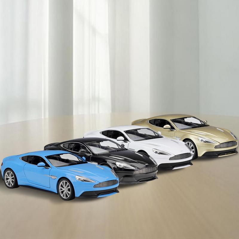 Vanquish Die Casting Model Sports Car 1:24 Aston Martin Welly Collection Children Car Model Gifts Toys
