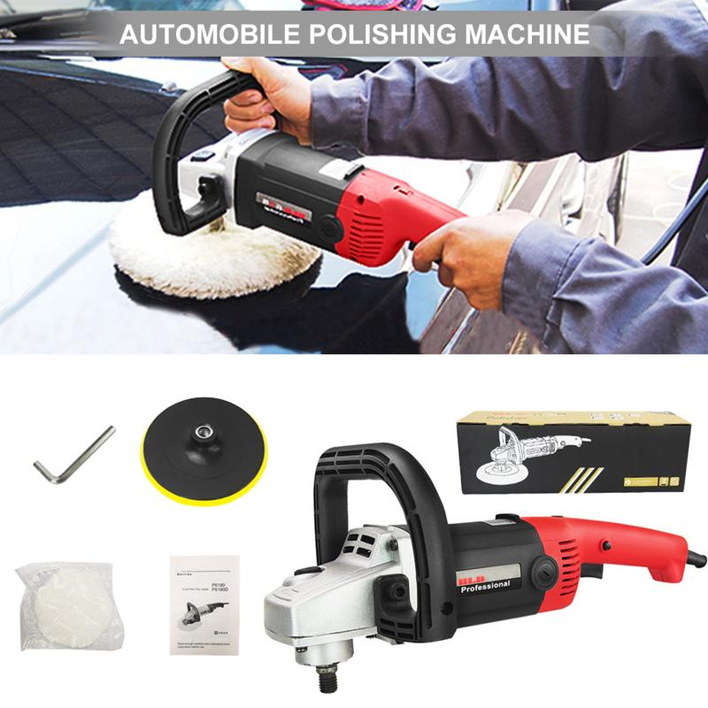 Image 5 - Car Polisher 1400W Variable Speed 3000rpm 180mm Car Paint Care Tool Polishing Machine Sander 220V Electric Floor Polisher-in Automotive Polishing Machine from Automobiles & Motorcycles
