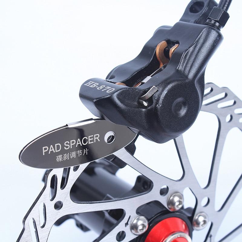 1pc MTB Disc Brake Pads Adjusting Tool Bicycle Pads Mounting Assistant  Brake Pads Rotor Alignment Tools Spacer Bike Repair Kit