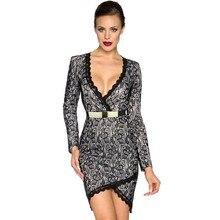 MUXU black lace long sleeve vestidos streetwear bodycon kleider fashion clothes patchwork sexy sukienka  elbise jurken