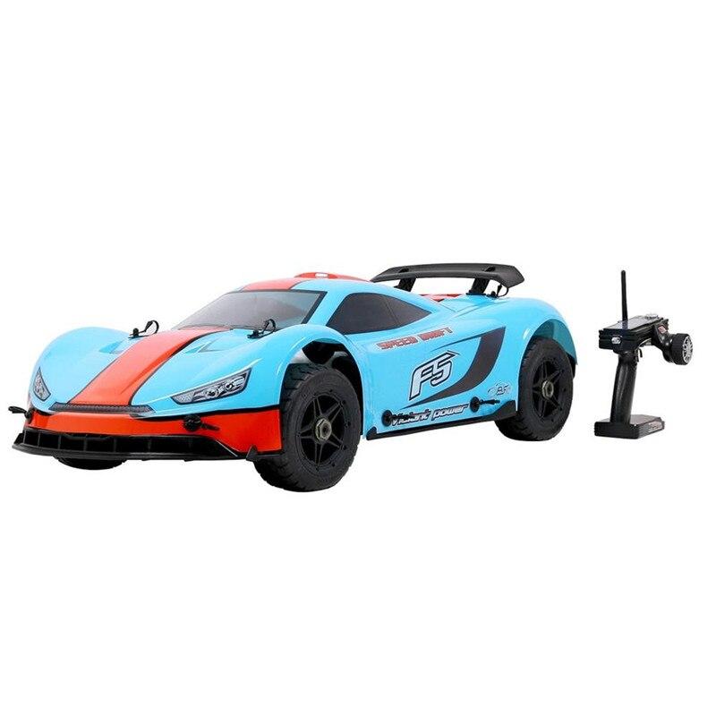 Rovan ROFUN F5 1/5 2.4G 4WD dérive Rc voiture 36cc moteur à essence sur route plat Sport rallye jouet