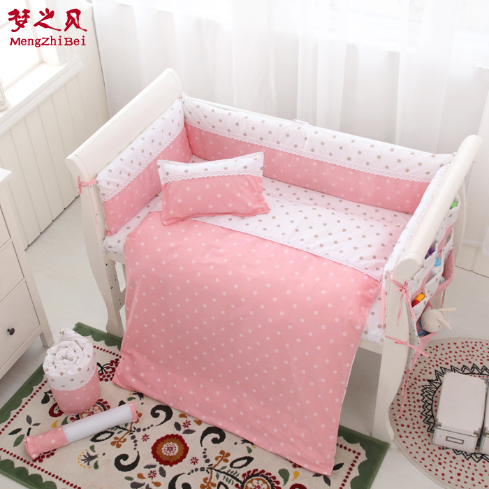 7Pcs 100%Cotton Baby Fence Bed Sheets Thickening Babies Bumper Baby Crib Bumpers Bedding Cartoon Baby Bedding Sets Bed Safety7Pcs 100%Cotton Baby Fence Bed Sheets Thickening Babies Bumper Baby Crib Bumpers Bedding Cartoon Baby Bedding Sets Bed Safety