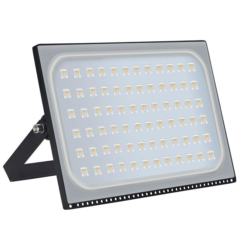 GERUITE 2PCS 500 watt Outdoor Lighting IP65 Waterproof Ultrathin LED Flood Lights 500W LED Street Floodlight 220V LED Spotlights
